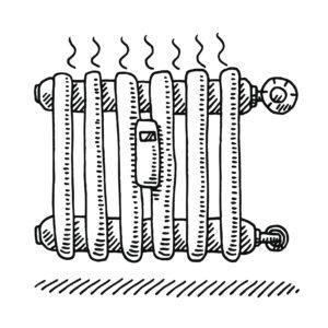 Radiator Heating Drawing