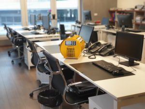 Ufficio sanificato
